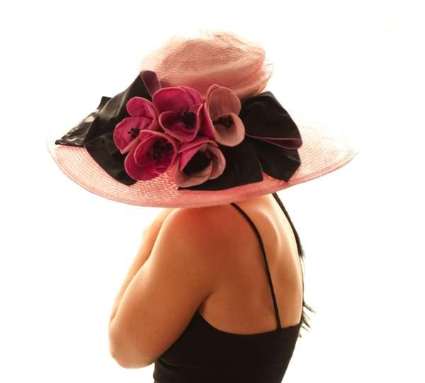 This Tulip hat is featured at the Christine