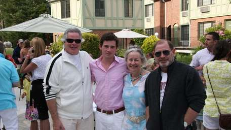 Dick Soloway, Eddie Moan, Didi Clairmont and Philip