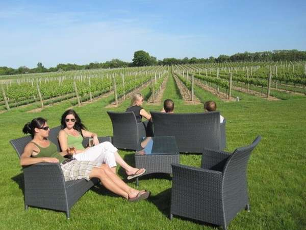 Memorial Day weekend at Sparkling Pointe in Southold