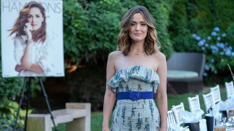 Actress Rose Byrne attends the Hamptons magazine cover