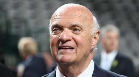 Lou Lamoriello of the Islanders attends the first