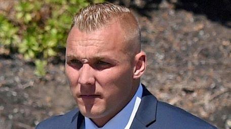 Nassau County police officer Erik Skoglund, of Port