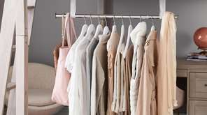 Missing your roomy closet at home? Add extra