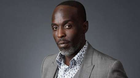 Michael Kenneth Williams at the 2016 Television Critics