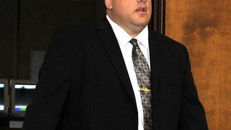 New York Police Department Officer Anthony Battisti of