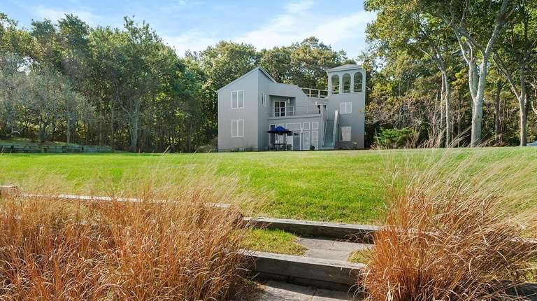 The Shelter Island home, designed by Italian architect