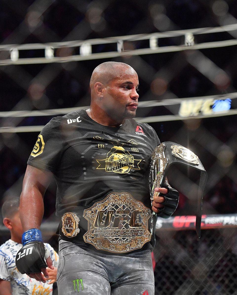 First title: UFC light heavyweight championship: Daniel Cormier