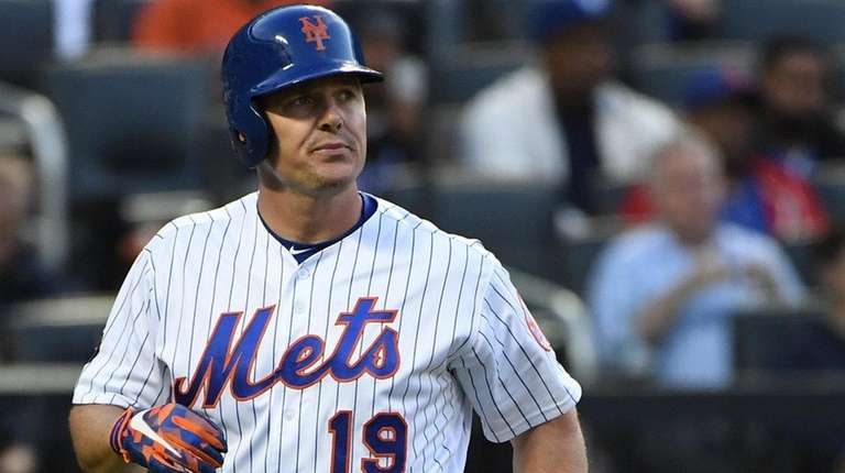 Jay Bruce was shut down for at least