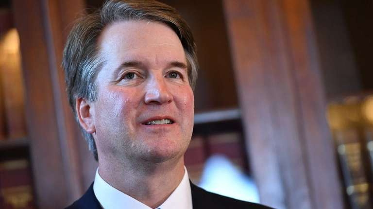 Supreme Court associate justice nominee Brett Kavanaugh attends