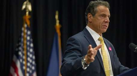 Gov. Andrew M. Cuomo, seen here on Tuesday