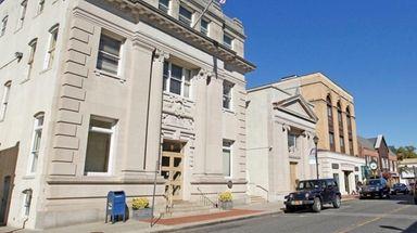 The Glen Cove City Hall on Glen Street
