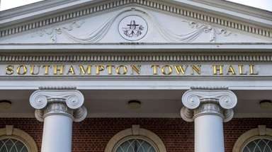 Southampton Town Hall on Hampton Road in Southampton.