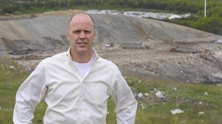 Brookhaven Town chief of operations Matt Miner, seen