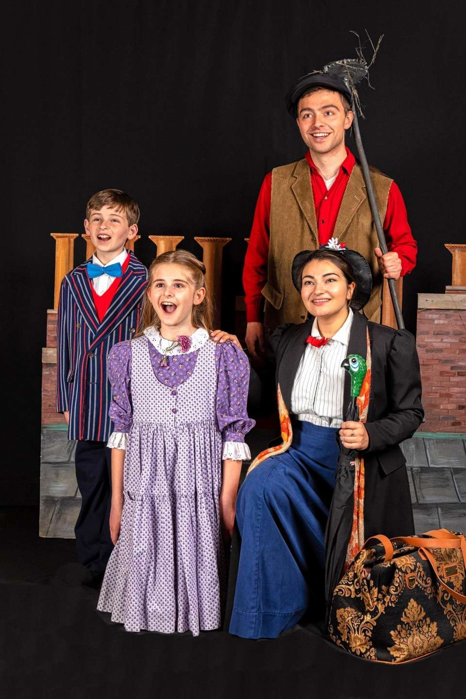 """Mary Poppins"" at The Long Island Children's Museum."