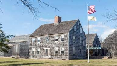 East Hampton Town Hall in East Hampton, seen