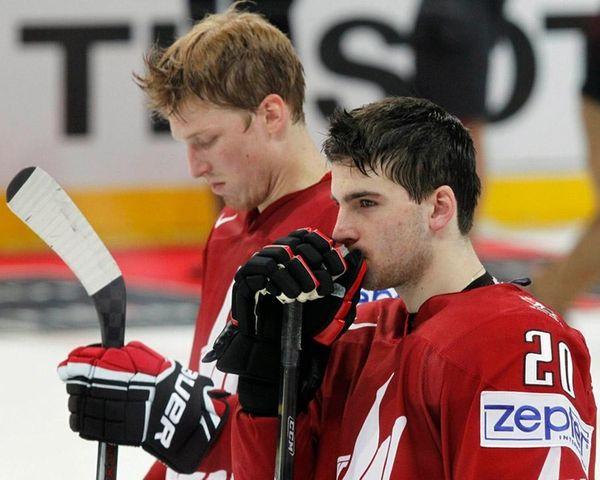 Islanders forward John Tavares and Rangers defenseman Marc