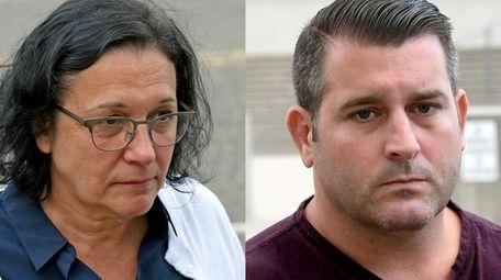 Lorraine Chalavoutis, 61, and Shaun Sullivan, 37, of