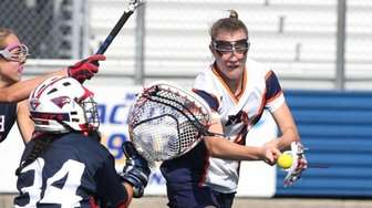 Manhasset H.S. girls lacrosse player Jenny Vlahos, #