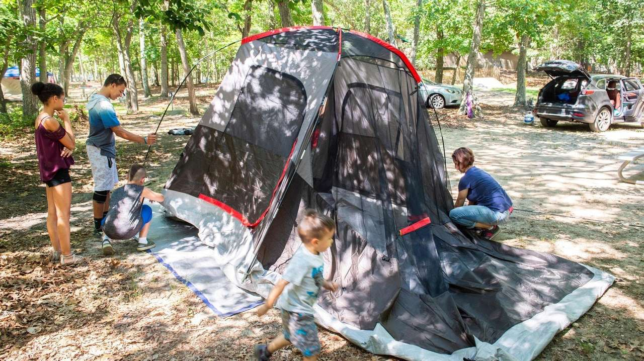 Car camping for families: 8 New York State campsites | Newsday
