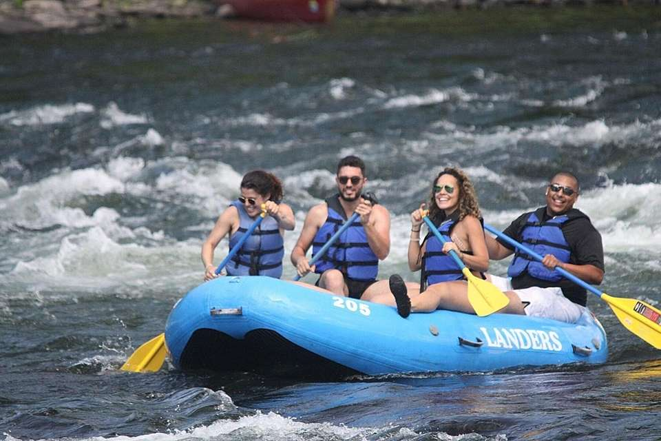 Rafting on the Upper Delaware River is among