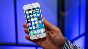 The Apple iPhone SE, though older and smaller,