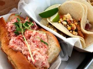 Lobster rolls and tacos are on the Silly