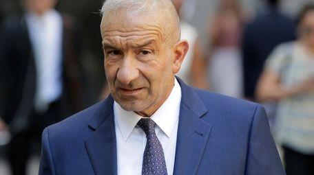 Former SUNY official Alain Kaloyeros arrives at federal