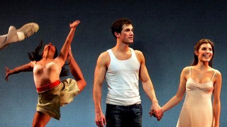 Matt Cavenaugh and Josefina Scaglione starred in the