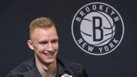 Brooklyn Nets NBA basketball team draft pick Dzanan