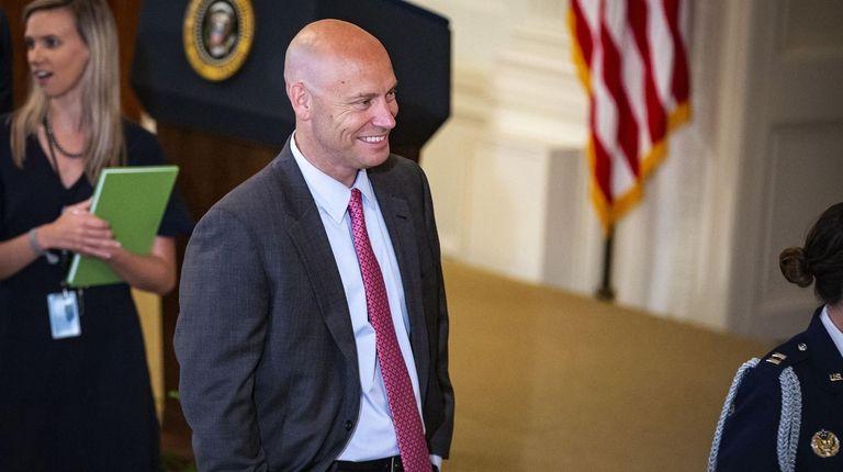 Marc Short, White House director of legislative affairs,