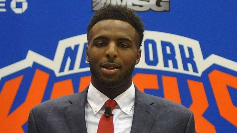 Mitchell Robinson, drafted 36th overall by the Knicks,