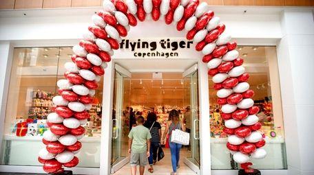Flying Tiger Copenhagen, a Danish variety store, recently