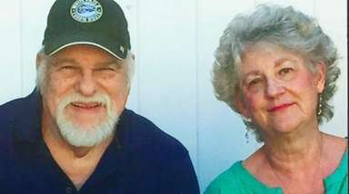 Patrick and Christine O'Hagan of Holtsville celebrated their
