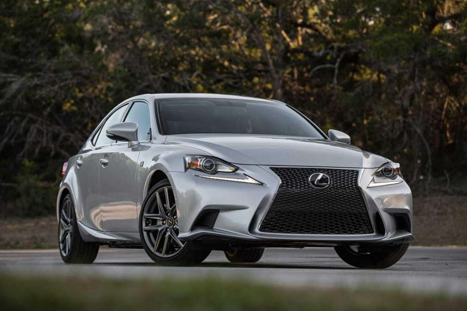 The Toyota Motor Corp. 2014 Lexus IS sport
