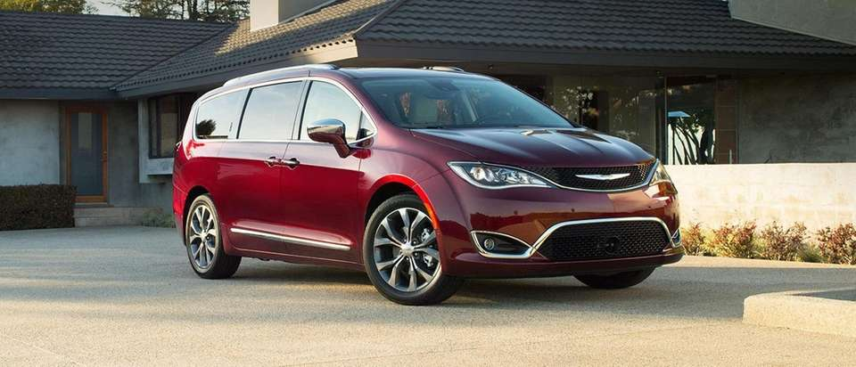 2017 Chrysler Pacifica, a Four-door, seven-passenger minivan Base