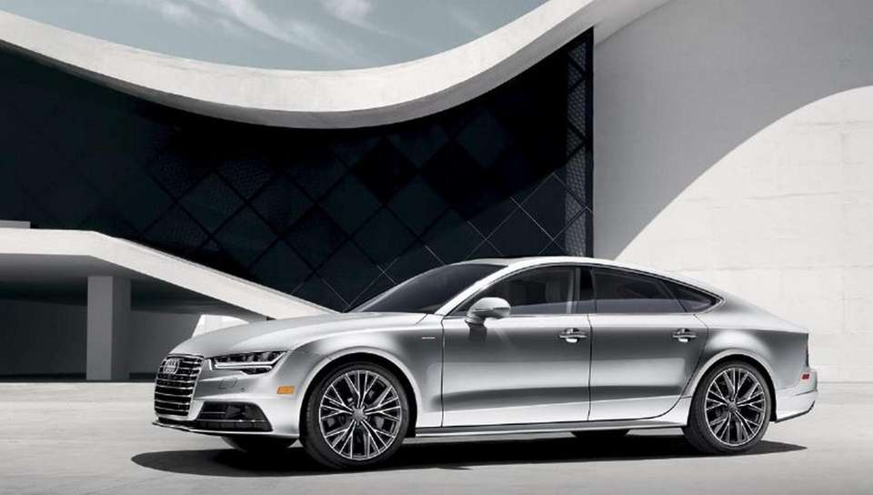 The new redesigned Audi A7 Sedan; known as