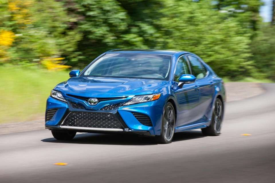 The 2018 Toyota Camery is one of America's