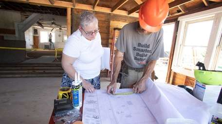 Mary Cascone, Babylon Town historian, discusses renovations for