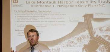 Steve Couch, a senior coastal planner with the