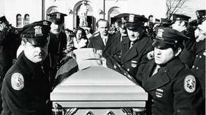 Funeral of Police Officer Matthew Giglio at St.