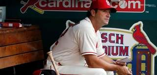 St. Louis Cardinals manager Mike Matheny spent his