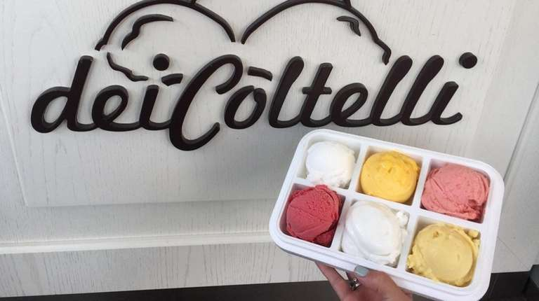 Gelateria dei Coltelli in Williston Park is discounting
