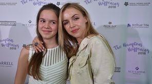 Natalie and Anastasia Yura attend The Samuel Waxman