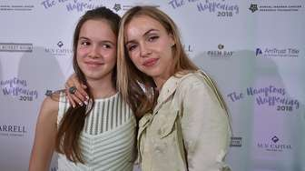Natalie and Anastasia Yura attend The Samuel Waxman