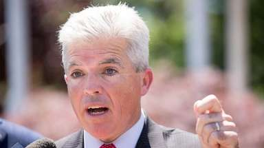 Suffolk County Executive Steve Bellone is seeking Republican