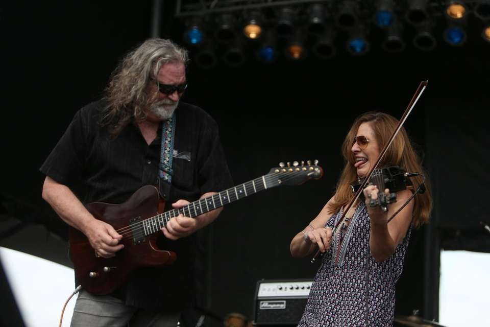The Kerry Kearney Band performs during the Great