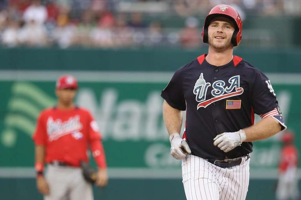 Peter Alonso of the New York Mets and