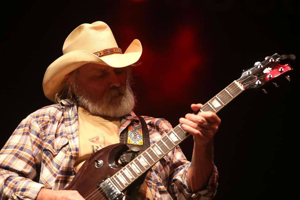 Dickey Betts performs during the Great South Bay