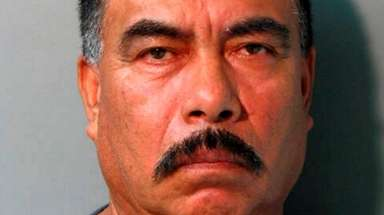 Adislado Carrillo, 57, of East Meadow was arrested