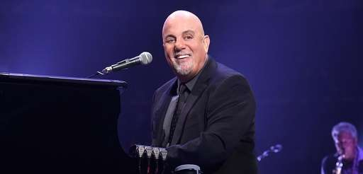 Billy Joel performs at Madison Square Garden on